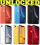 Apple iPhone XR 64GB / 128GB / 256GB (UNLOCKED) Verizon Black/Red/White *SEALED*