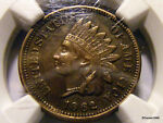 1862 INDIAN HEAD CENT   NGC XF 45   NICE   TAKE A LOOK