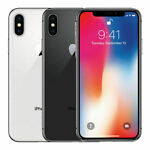 Apple iPhone X 64GB 256GB Space Gray~Silver~GSM&CDMA Unlocked~A1865~OB~EXCELLENT