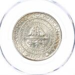 1936 NORFOLK 50C PCGS CERTIFIED MS63 SILVER HALF DOLLAR COMMEMORATIVE COIN