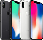 Apple iPhone X 256GB Verizon AT&T T-Mobile Factory GSM Unlocked Smartphone
