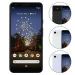 Google Pixel 3a XL Smartphone 64GB Unlocked Just Black Clearly White Purple-ish