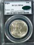 1936 U.S. ELGIN COMMEM HALF $    MS66  PCGS GREEN CAC   STK4281
