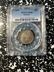 1854 ARROWS U.S. SEATED LIBERTY QUARTER PCGS XF45 G348 SILVER  NICE TYPE COIN