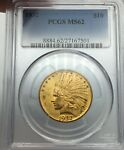 1932 PCGS MS62 $10 GOLD INDIAN  LUSTROUS & CLEAN FACE
