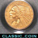 1928 $2.50 GOLD INDIAN QUARTER EAGLE UNITED STATES GOLD PCGS MS63 FREE S/H