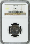 1904 5C PF67 NGC | LIBERTY | V NICKEL 5 C | BIN  SKU.CC