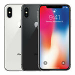 Apple iPhone X 256GB| 64GB GSM/ CDMA Unlocked Verizon/ Sprint/ AT&T/  T-Mobile