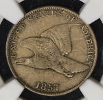 1857 NGC VF20 FLYING EAGLE CENT ITEMT7025