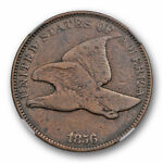 1856 FLYING EAGLE CENT 1C NGC PF 12 PROOF KEY DATE LOW MINTAGE