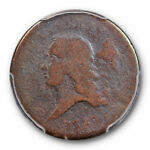 1793 1/2C LIBERTY CAP HALF CENT PCGS AG 3 ABOUT GOOD FIRST YEAR US TYPE COIN