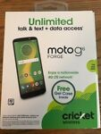 CRICKET WIRELESS MOTO G6 FORGE WITH 16GB MEMORY PREPAID CELL PHONE BLACK NEW