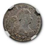 1796 DRAPED BUST HALF DIME NGC F 12 FINE LM 1 LIKERTY VARIETY EARLY US TYPE