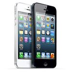 """Apple iPhone 5 32GB """"Factory Unlocked"""" Black and White WiFi Smartphone"""
