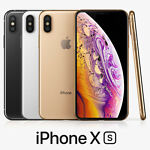 Apple Iphone XS 256GB UNLOCKED GSM 4G LTE Silver Gold Space Gray Smartphone A+