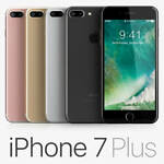 Apple iphone 7 Plus 32GB 4G LTE (Unlocked) Smartphone 1-Year Warranty A+