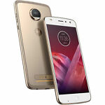 Motorola Moto Z2 Play XT1710 64GB Unlocked Phone w/ 12MP Camera - Fine Gold