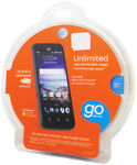 NEW ZTE Z812 Maven 8GB Blue AT&T Smartphone Android