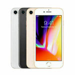 Apple iPhone 8 64GB/256GB iOS Smartphone Factory Unlocked NEW Mobile US Stock A+