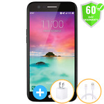 """LG K20 M255 4G LTE 16GB 5.3"""" Black Phone (At&t) Unlocked All GSM Carriers Mint"""