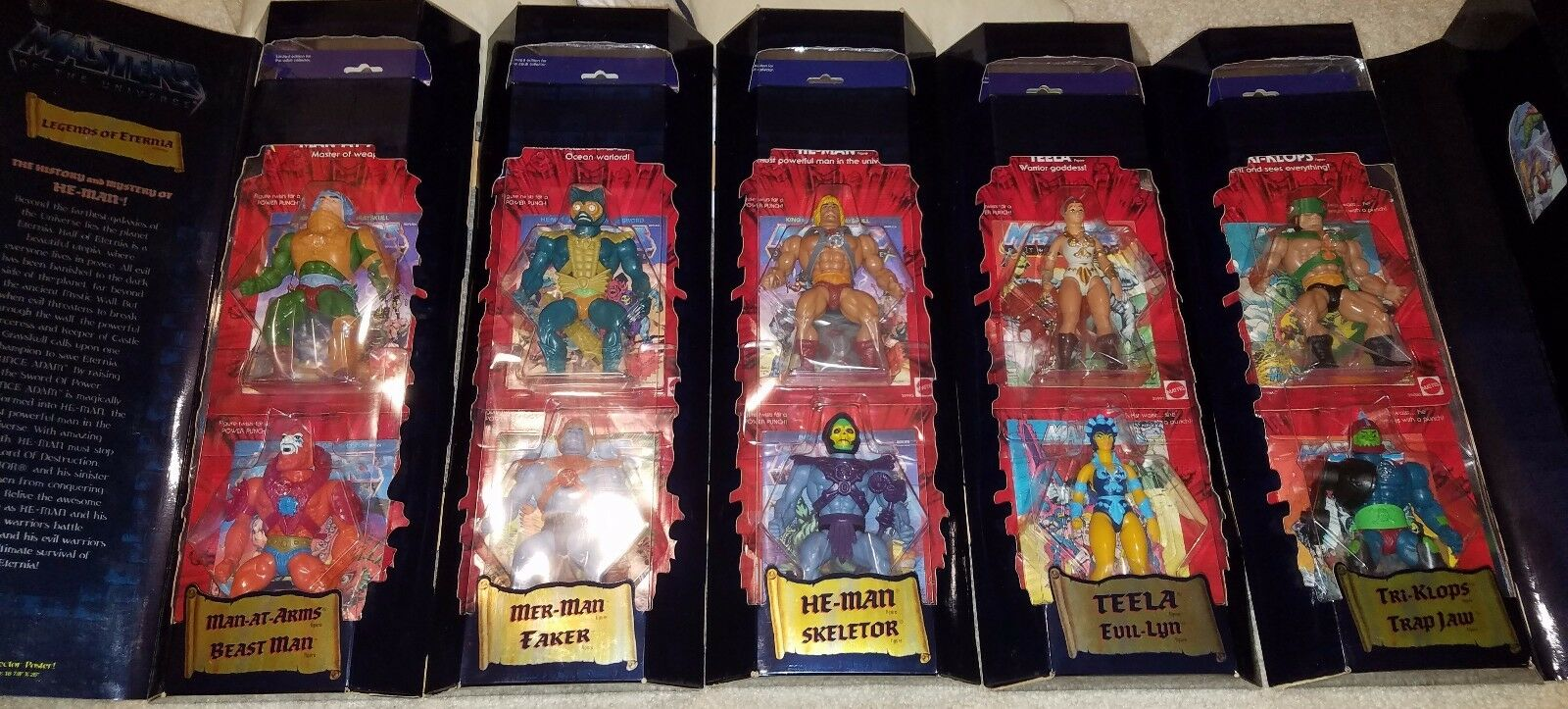 MOTU Legends of Eternia Showcase 10-pack! JCPenny Exclusive! Extremely Rare!