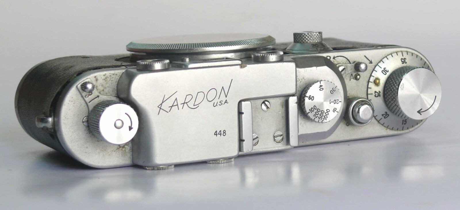 RARE Kardon Rangerfinder 35mm camera VERY FEW MADE #SERIAL NO - 448