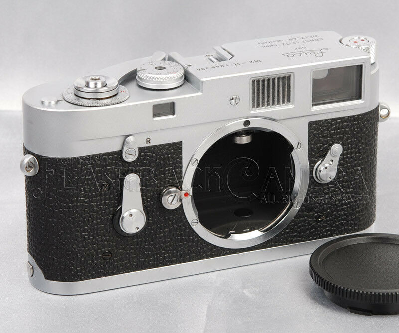 @CLA'd@ Leica M2-R Chrome Made in 1969 w/ M4 Rapid Loading M2 from JAPAN #013555