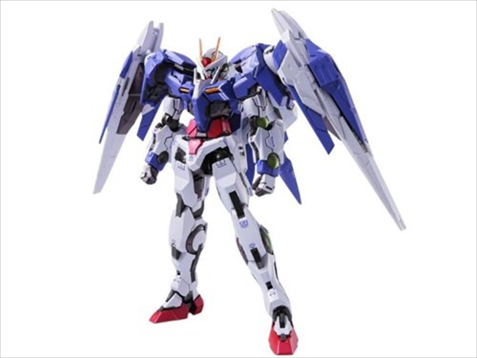 METAL BUILD Gundam 00 GN-0000 + GNR-010 00 RAISER Action Figure BANDAI F/S EMS