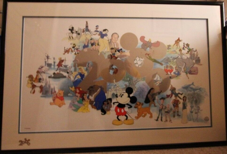 Millenium 2000 Welcome Disney Sericel Limited Edition(14)