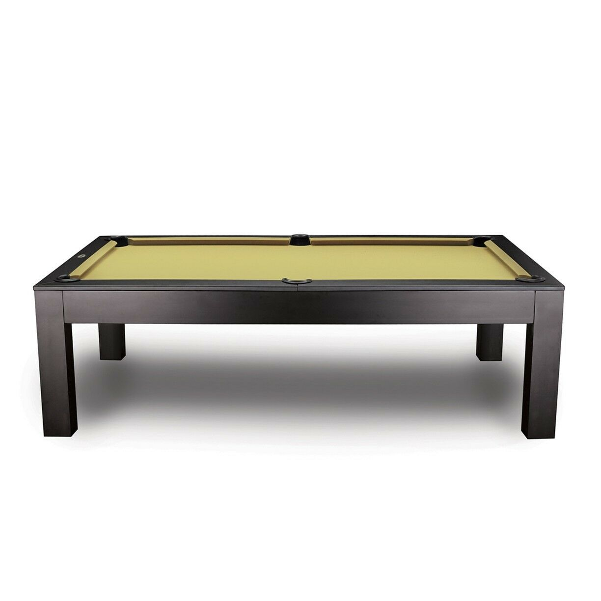 8' Penelope Slate Pool Table including Matching Dining Top in Walnut Finish