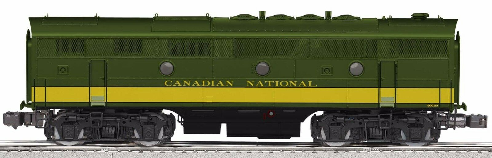 LIONEL #34648 CANADIAN NATIONAL LEGACY F3 POWERED B-UNIT NIB NR