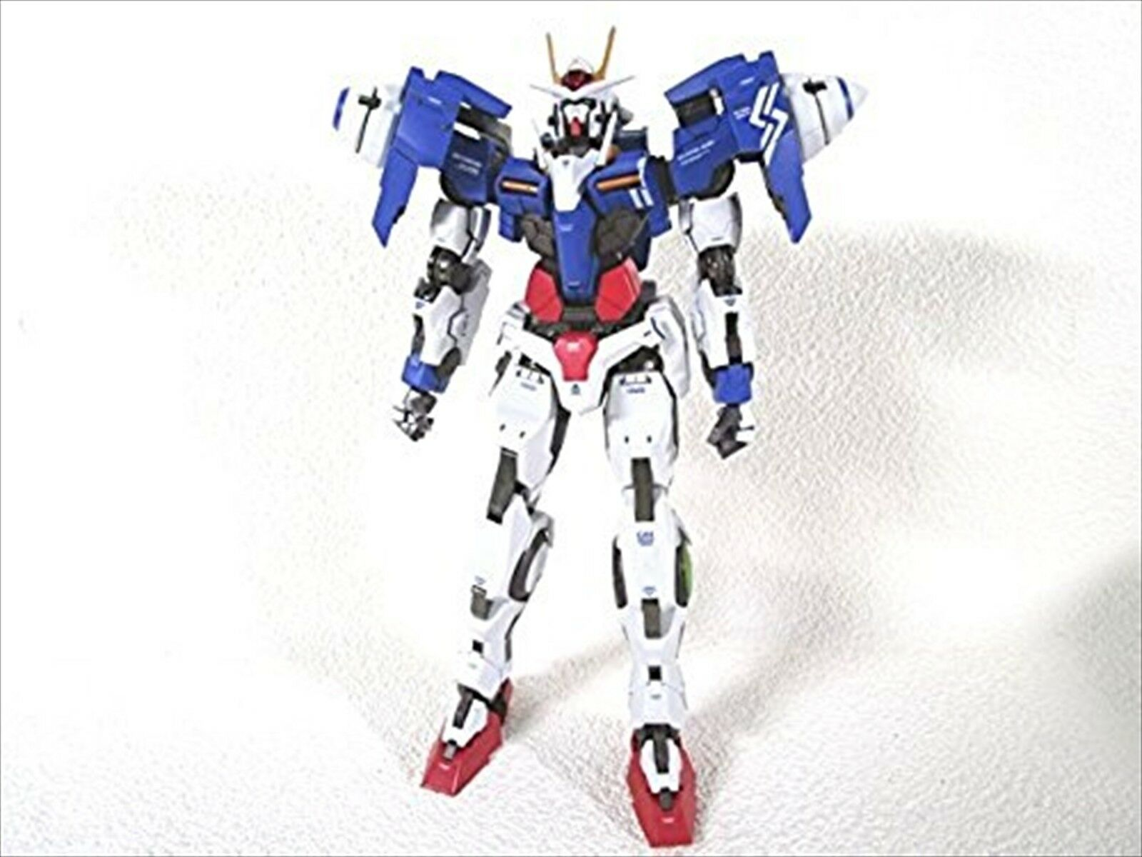METAL BUILD Gundam 00 GN-0000 + GNR-010 00 RAISER Action Figure BANDAI F/S USED