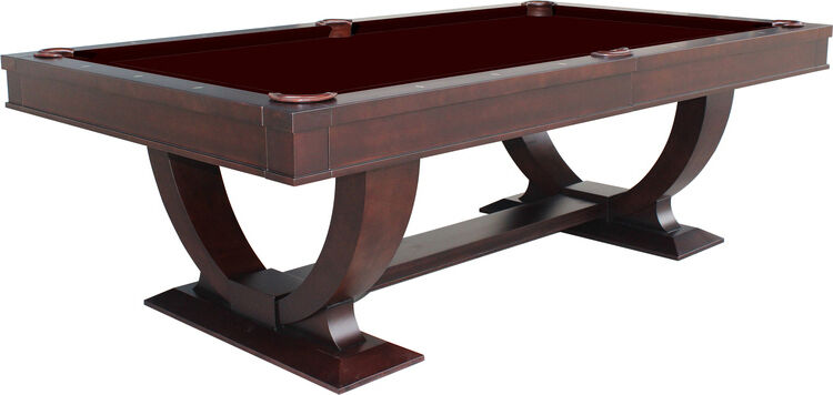Monaco 8' Pool Table Dark Walnut - Separate Dining Top Available