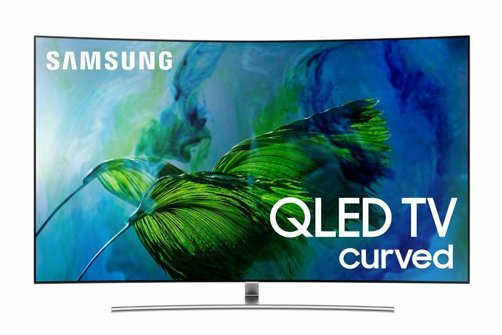 Samsung Electronics QN55Q8C Curved 55-Inch 4K Ultra HD Smart QLED TV
