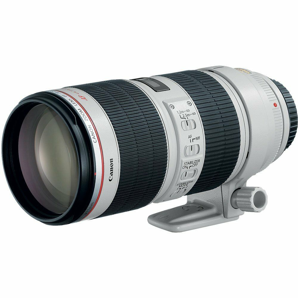 Canon EF 70-200mm f/2.8L IS II USM Telephoto Zoom Lens 2751B002 OPEN BOX DEMO