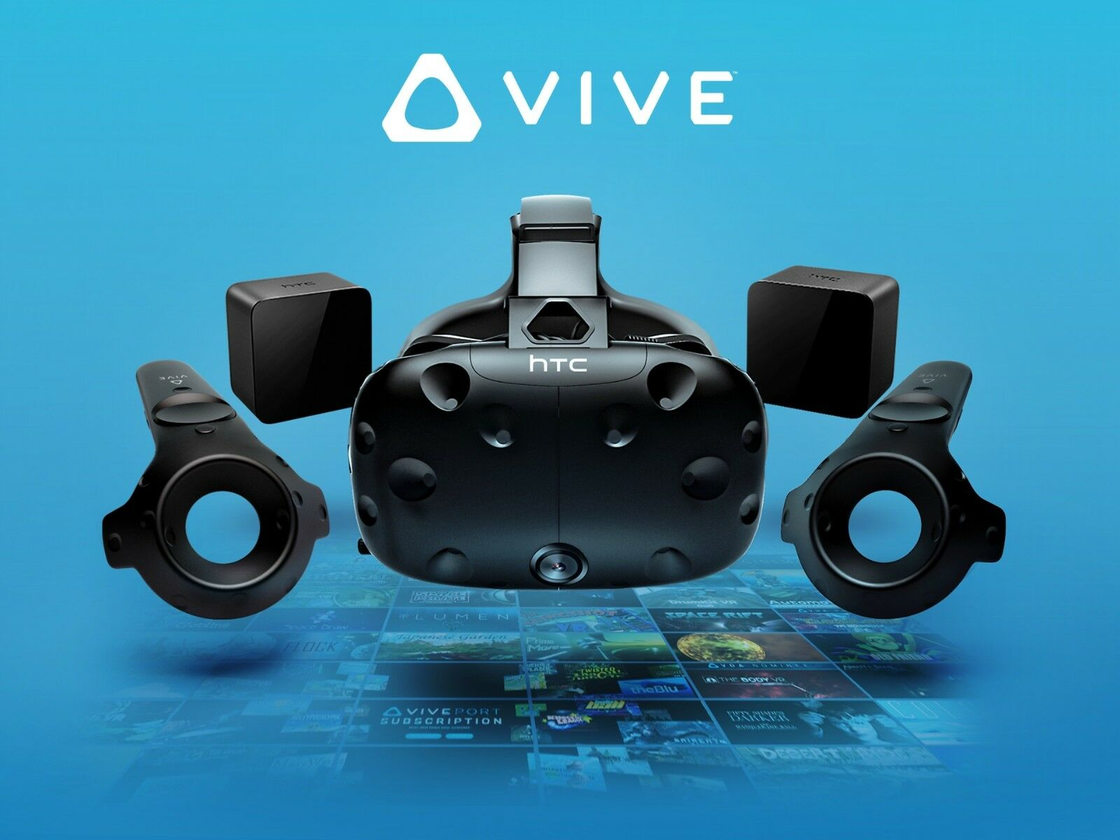 *BRAND NEW* HTC Vive VR Virtual Reality Headset Consumer Version Retail CV1