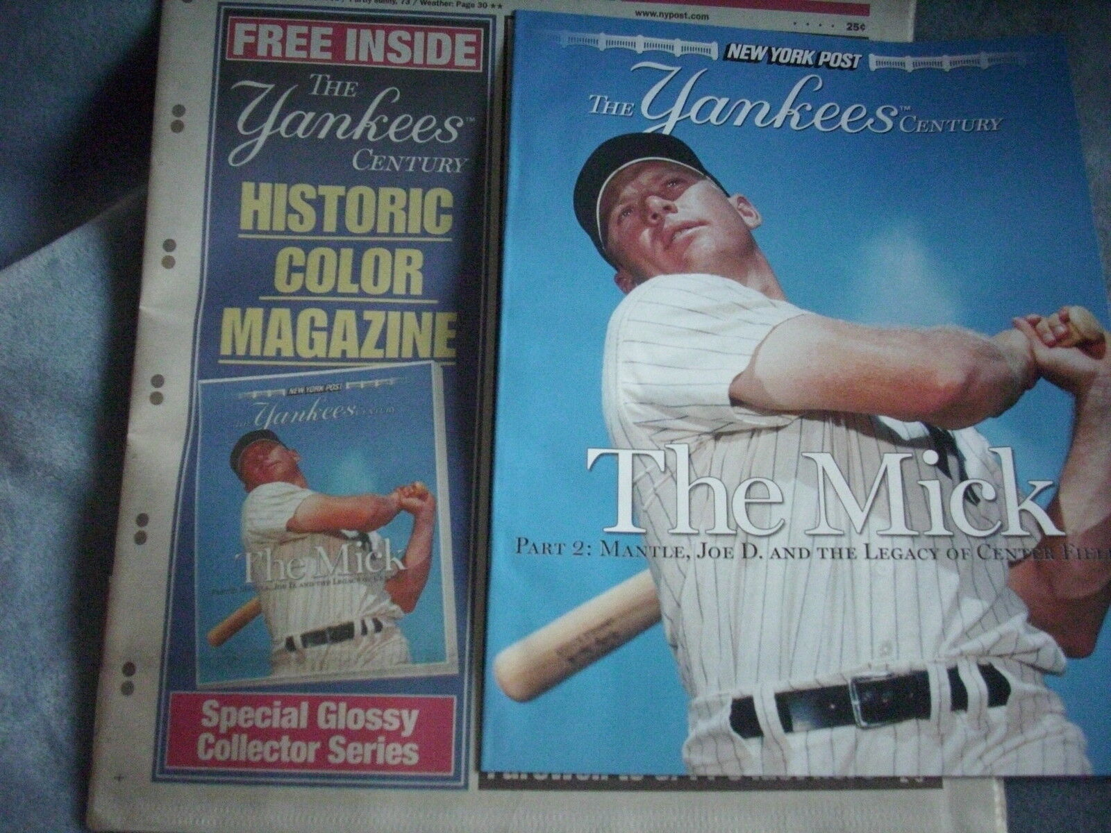 NY Post Complete Coll. Yankees Jeter Mantle Mariano Ruth 100th Anniv 1903-2003