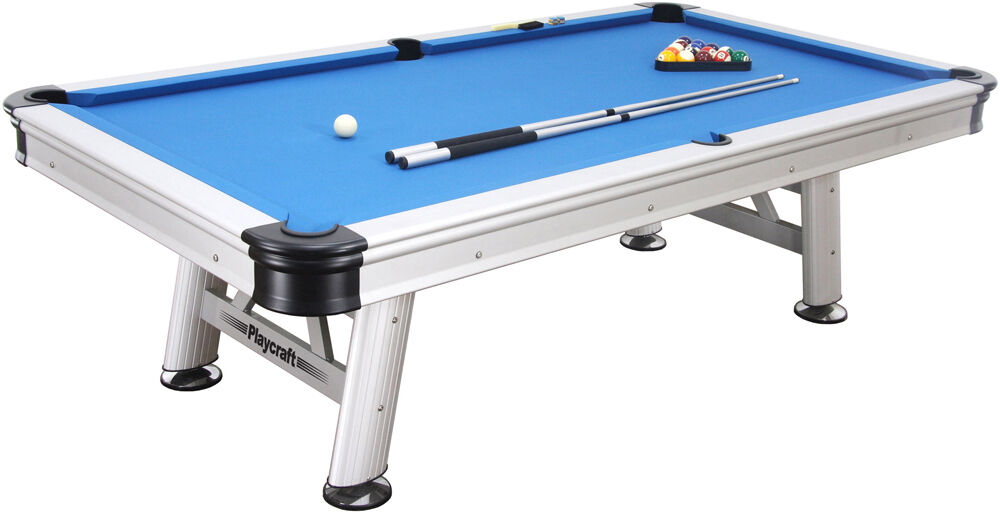 Extera Pool Table 8' Outdoor by Playcraft w/ FREE Shipping
