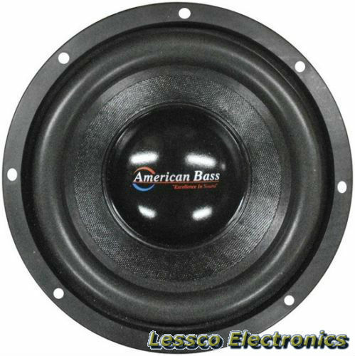 Pair of American Bass XFL1244 12