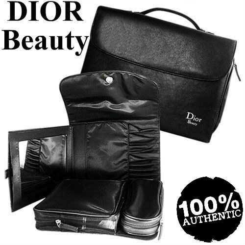 100%AUTHENTIC HUGE RARE DIOR COUTURE MultiPROFESSIONAL MAKEUP TRAVEL CASE