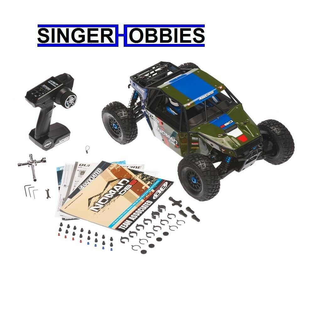 Associated 1/8 Limited Edition Nomad DB8 4WD Brushless RTR, Green ASC80941T1 HH