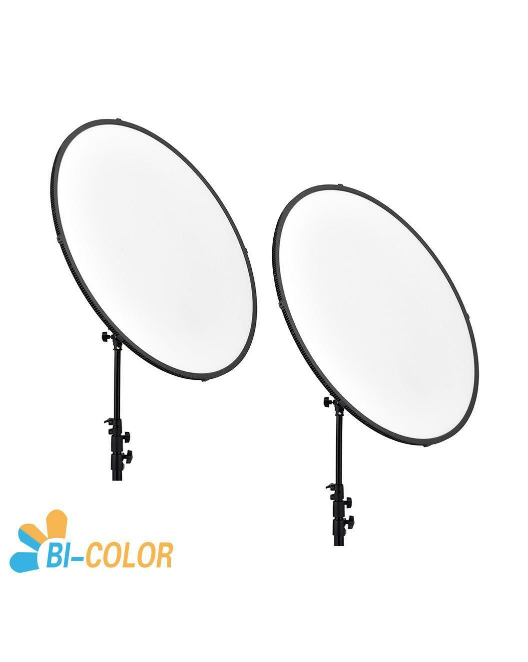 CAME-TV C1500S Bi-Color LED Edge Light (2 Pieces Set) led video light