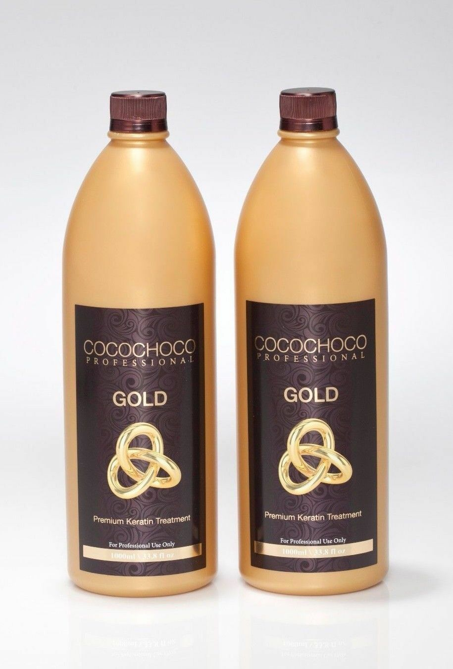 COCOCHOCO Gold 2 bottles of 1000ml each with 24k Gold New improved formula