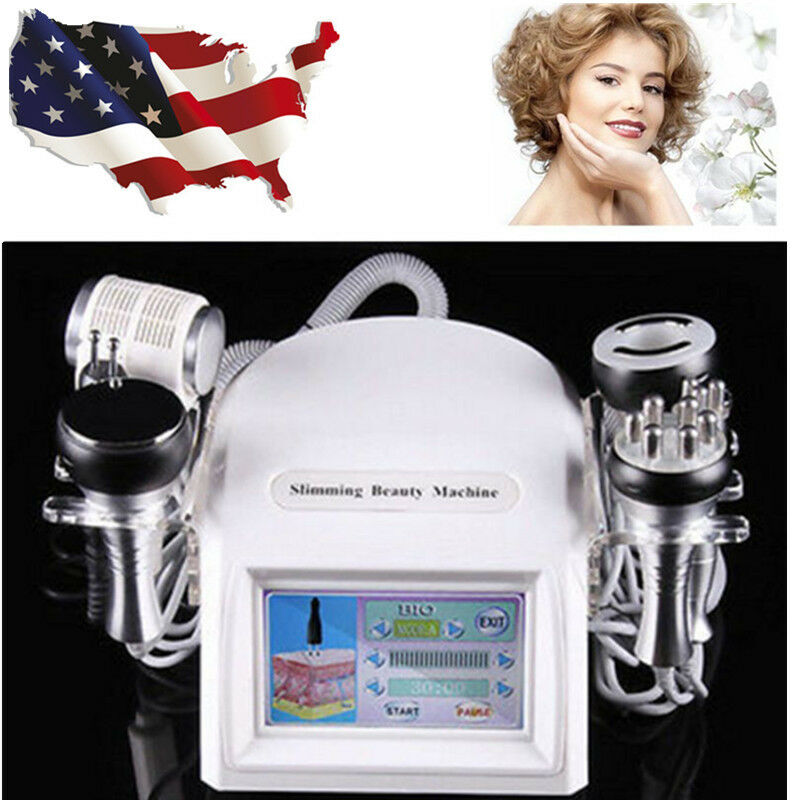 8In1 Cavitation Vacuum Anti-aging Multipolar Tripolar RF BIO Eyes