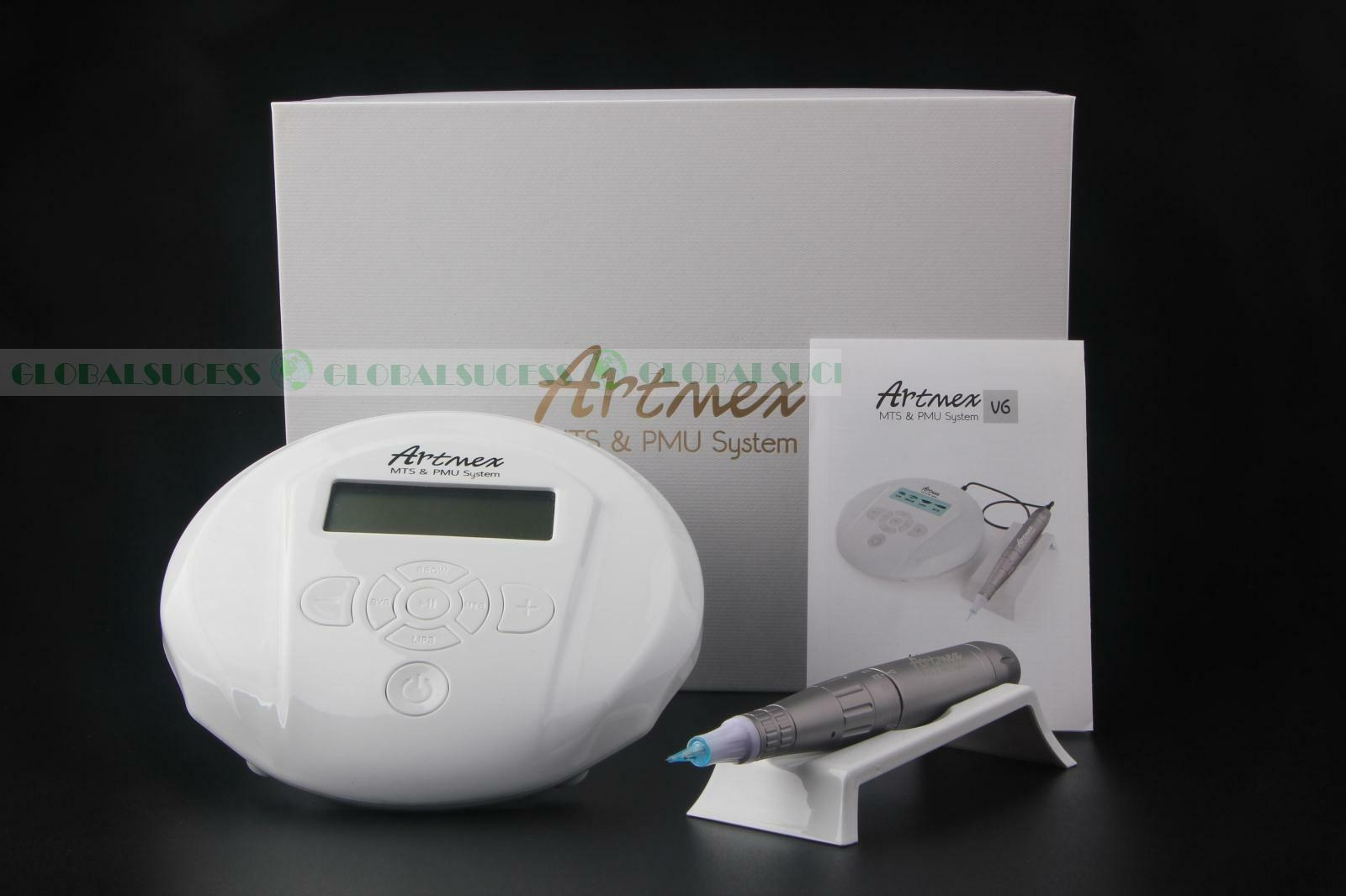 Permanent Makeup Tattoo Machine Artmex Eye Brow Lip Rotary Pen V6 MTS PMU System