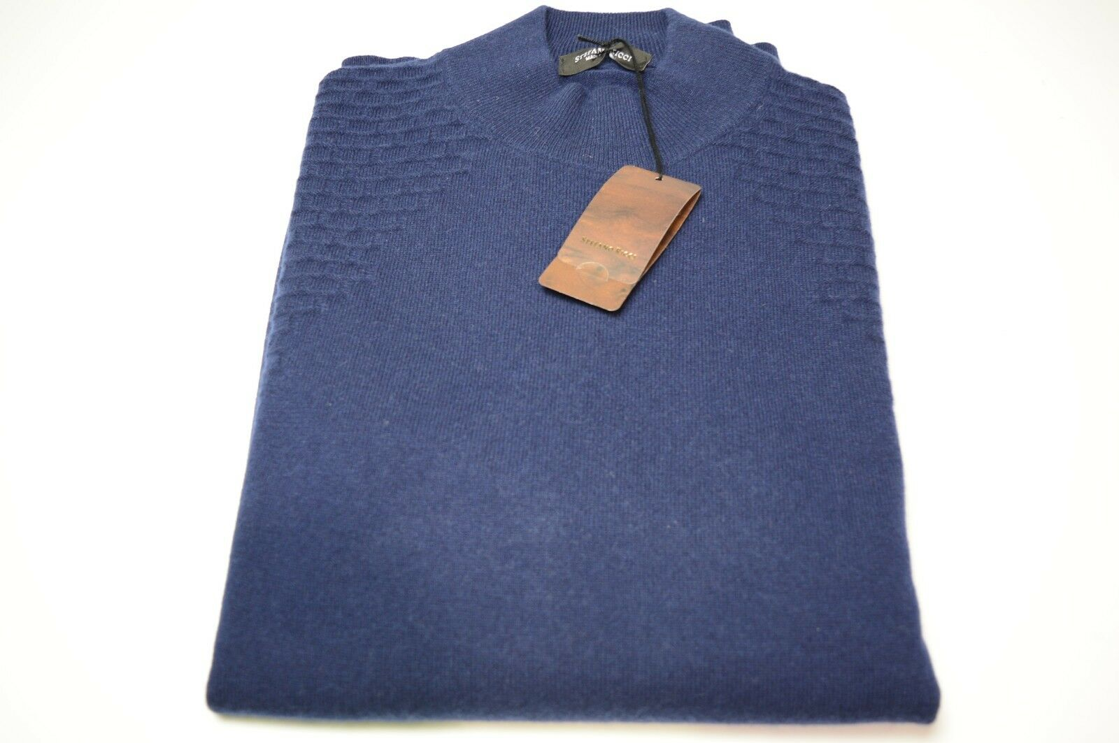 NEW $ 1650,00 STEFANO RICCI Sweater  Cashmere  Size 3XL Us 58 Eu (COD 606)