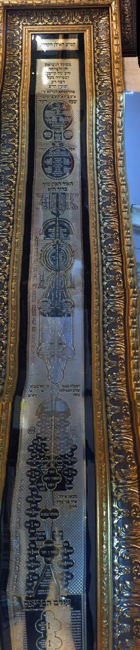 KABBALAH 24K GOLD 5 FT AMULET PROTECTION WEALTH MADONNA HEALTH HOLY TREE LOVE