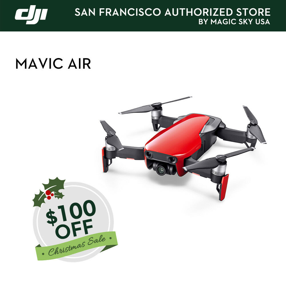 DJI Mavic Air (Flame Red) Magic Sky USA