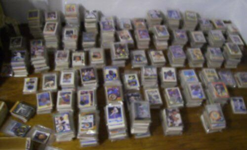 (2500+) 4-SPORT Card Lot early 70's +up - HOF/STARS - mostly BB / FB - Updated