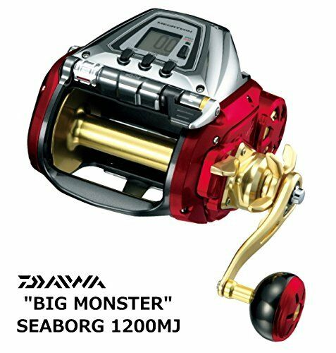 New Daiwa 17 SEABORG 1200 MJ Saltwater Electric Reel Fishing JP F/S